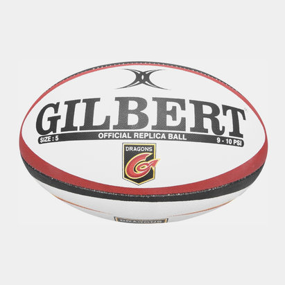 Gilbert Dragons Replica Rugby Ball