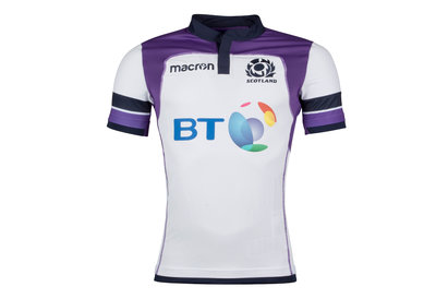 Macron Scotland 2017/18 Alternate Test S/S Rugby Shirt