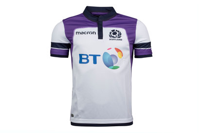 Macron Scotland 2017/18 Alternate S/S Replica Rugby Shirt