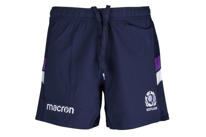 Macron Scotland 2017/18 Home Players Rugby Shorts