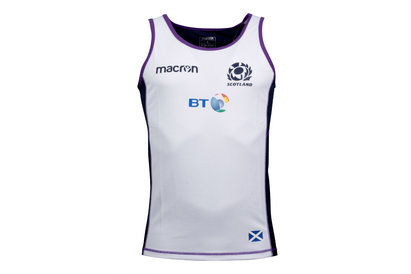 Macron Scotland 2017/18 Players Dry Rugby Gym Singlet