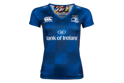 Canterbury Leinster 2017/18 Ladies Home Pro S/S Rugby Shirt