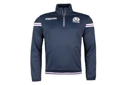 Macron Scotland 2017/18 Players 1/4 Zip Rugby Training Fleece