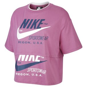Nike Sportswear Icon Clash Womens Short Sleeve Top