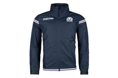 Macron Scotland 2017/18 Full Zip Shower Proof Jacket