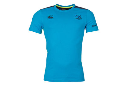 Canterbury Leinster 2017/18 Players Cotton Rugby Training T-Shirt