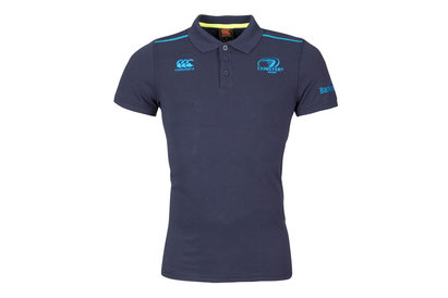 Canterbury Leinster 2017/18 Players Cotton Pique Rugby Polo Shirt