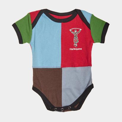 Harlequins Quartered Infants Bodysuit