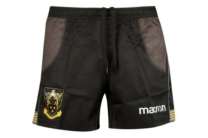 Macron Northampton Saints 2017/18 Home Match Rugby Shorts