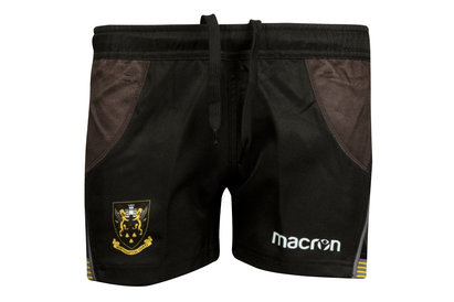 Macron Northampton Saints 2017/18 Home Kids Match Rugby Shorts
