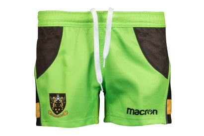 Macron Northampton Saints 2017/18 Alternate Kids Match Rugby Shorts