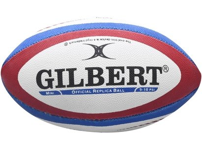 Gilbert England Replica Mini Rugby Ball