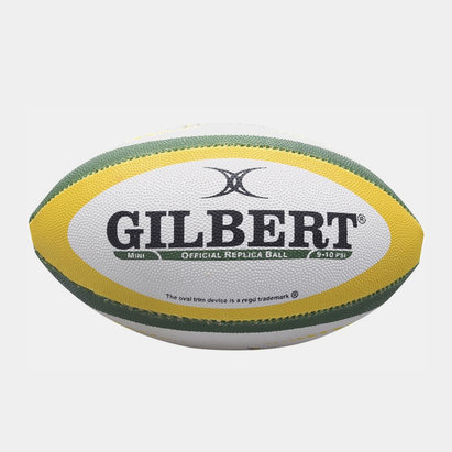 Gilbert South Africa Replica Mini Rugby Ball