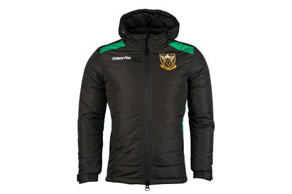 Macron Northampton Saints 2017/18 Players Off Field Rugby Jacket