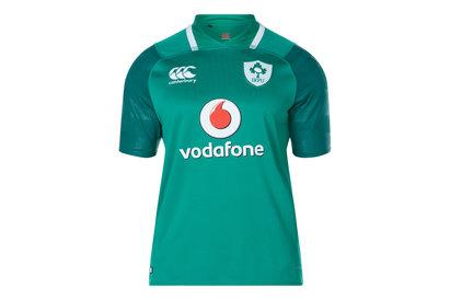 Canterbury Ireland IRFU 2017/18 Home Pro S/S Rugby Shirt