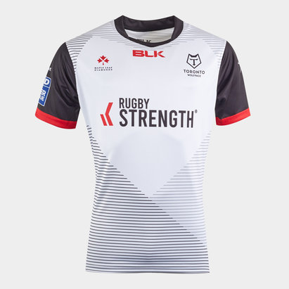BLK Toronto Wolfpack 2020 Home S/S Rugby League Shirt