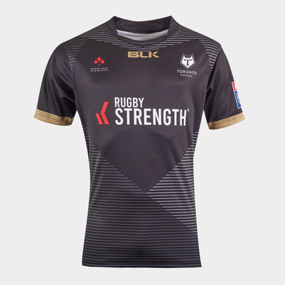 BLK Toronto Wolfpack 2020 Alternate S/S Rugby League Shirt