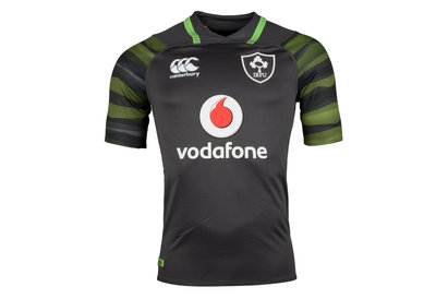 Canterbury Ireland IRFU 2017/18 Alternate Pro S/S Rugby Shirt