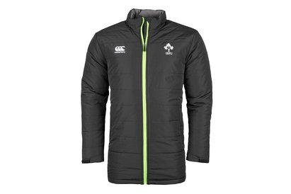 Canterbury Ireland IRFU 2017/18 Players Full Zip Padded Rugby Jacket