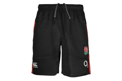 Canterbury England 2017/18 Players Woven Gym Rugby Shorts