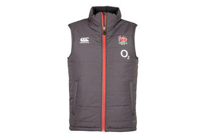 Canterbury England 2017/18 Players Padded Rugby Gilet