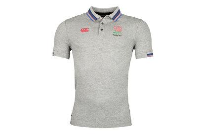 Canterbury England 1871 Jacquard Pique Rugby Polo Shirt