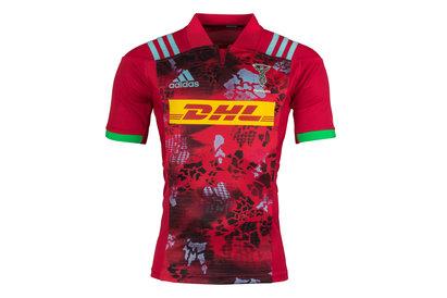 adidas Harlequins 2017/18 Alternate S/S Replica Rugby Shirt