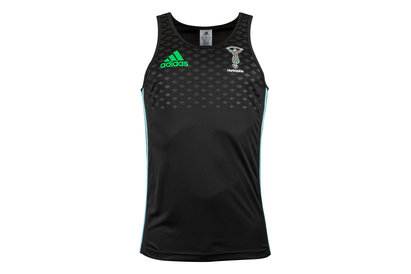 adidas Harlequins 2017/18 Players Rugby Training Singlet