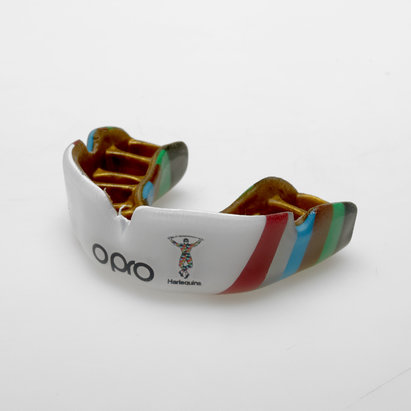 Opro Harlequins Players Powerfit Mouthguard