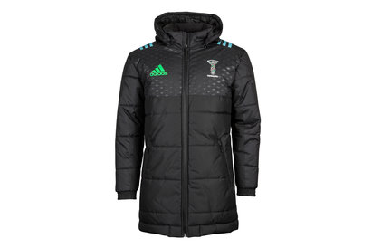 adidas Harlequins 2017/18 Players Rugby Jacket