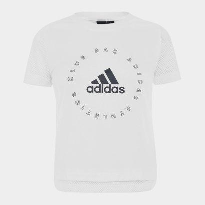 adidas Athletics Club T Shirt Ladies