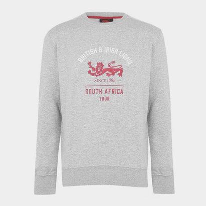 Canterbury British and Irish Lions Crew Sweatshirt Mens