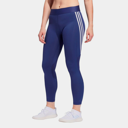 adidas Womens Alphaskin 3 Stripes Leggings