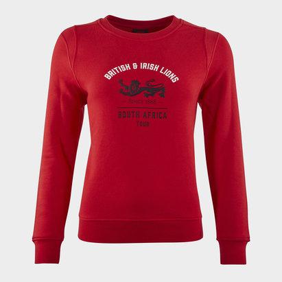 Canterbury British and Irish Lions Crew Sweatshirt Ladies