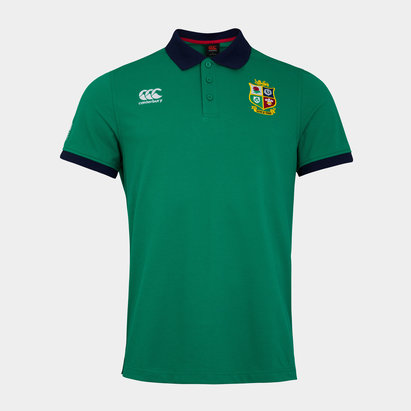 Canterbury and Irish Lions Nations Polo Shirt Mens