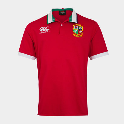 Canterbury British and Irish Lions S/S Classic Jersey Mens