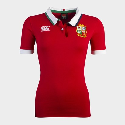 Canterbury British and Irish Lions S/S Classic Jersey Womens