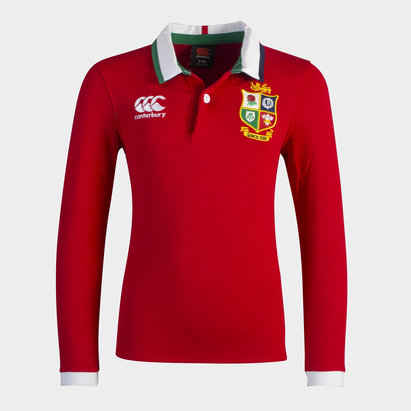 Canterbury British and Irish Lions Classic Shirt 2021 Junior