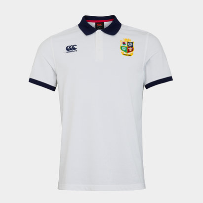 Canterbury British and Irish Lions Nations Polo Shirt Mens
