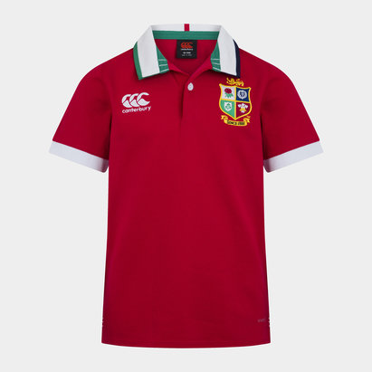 Canterbury British and Irish Lions S/S Classic Jersey Kids