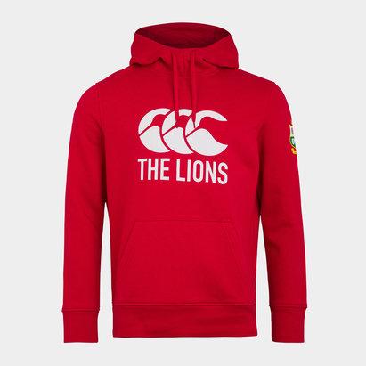 Canterbury British and Irish Lions Logo Hoodie Mens