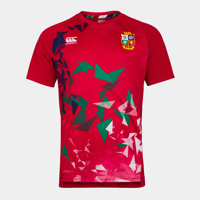 Canterbury British and Irish Lions Superlight Graphic T-Shirt Mens