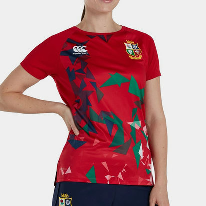 Canterbury British and Irish Lions Superlight Graphic T Shirt Ladies