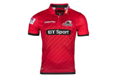 Macron Edinburgh 2017/18 Alternate S/S Replica Rugby Shirt