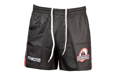 Macron Edinburgh 2017/18 Players Home Rugby Shorts