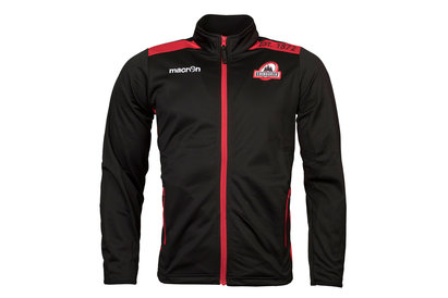 Macron Edinburgh 2017/18 Players Full Zip Rugby Anthem Jacket