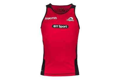 Macron Edinburgh 2017/18 Players Rugby Training Gym Singlet