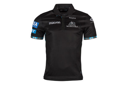 Macron Glasgow Warriors 2017/18 Home S/S Replica Rugby Shirt