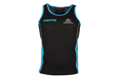 Macron Glasgow Warriors 2017/18 Players Gym Rugby Training Singlet
