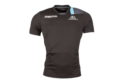 Macron Glasgow Warriors 2017/18 Players Rugby Training T-Shirt
